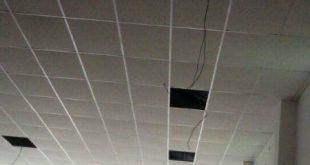 Pemasangan Plafon Acoustic Ritva Supermarket Nganjuk