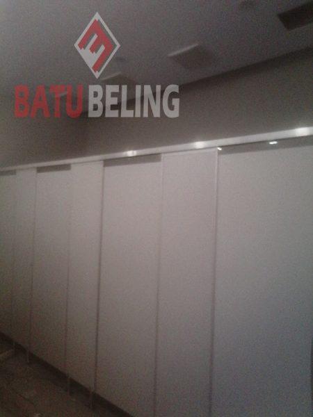 Cubicletoilet di Stasiun Kereta Api Karangasem Banyuwangi