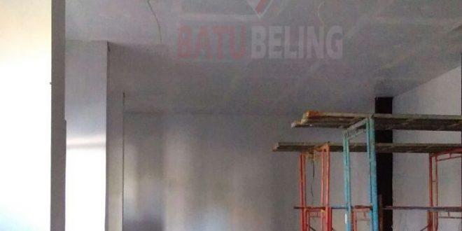 Pemasangan Plafon Ke 2 di Restaurant Atlantic Land Kenjeran Park Surabaya