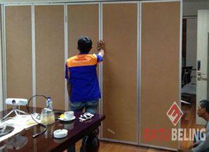 Pintu Lipat Standart di PJB Surabaya